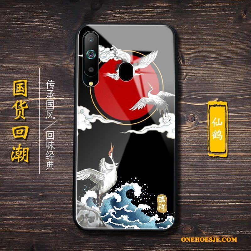 Hoesje Voor Samsung Galaxy A8s Trend Siliconen Telefoon Ster All Inclusive Chinese Stijl