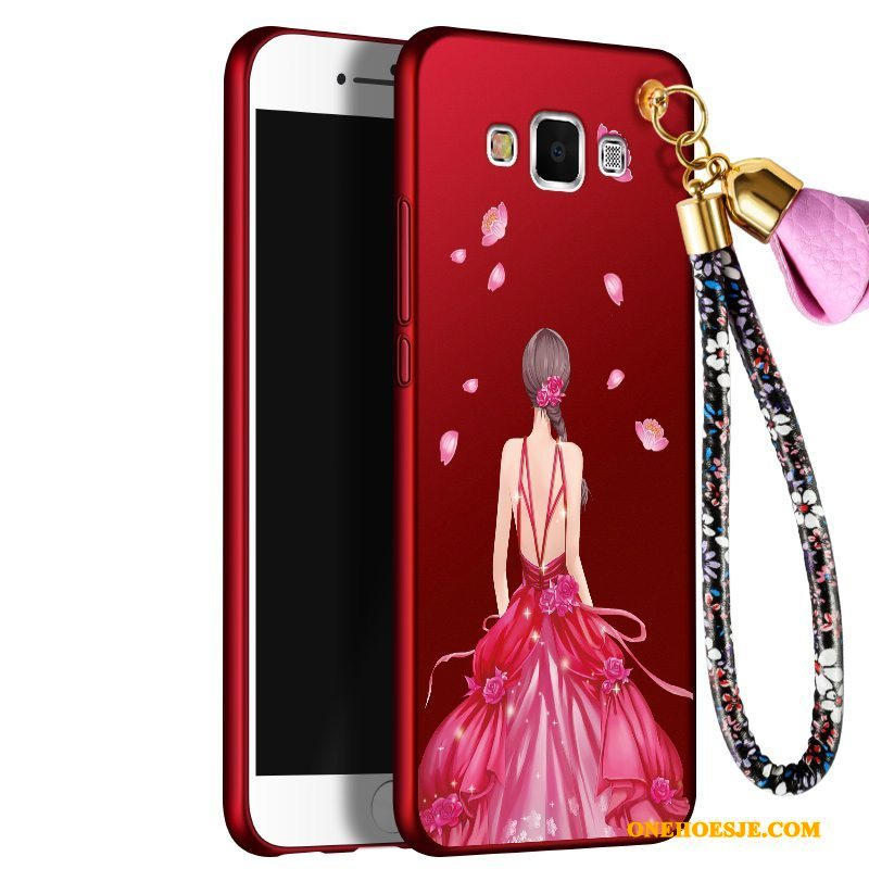 Hoesje Voor Samsung Galaxy J7 2016 Siliconen All Inclusive Hoes Ster Trend Bescherming