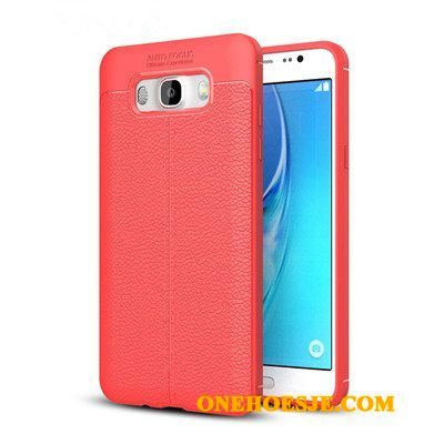 Hoesje Voor Samsung Galaxy J7 2016 Ster All Inclusive Rood Hoes Telefoon Anti-fall