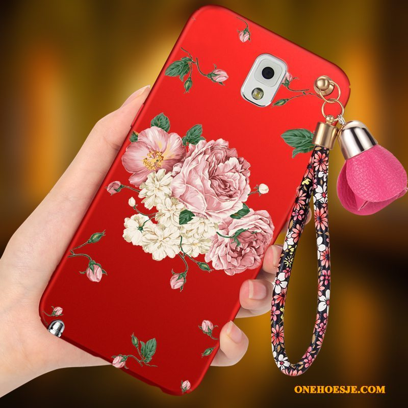 Hoesje Voor Samsung Galaxy Note 3 Bescherming Schrobben All Inclusive Hard Ster Anti-fall
