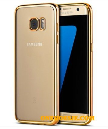 Hoesje Voor Samsung Galaxy S7 Edge All Inclusive Bescherming Goud Ster Hoes Anti-fall
