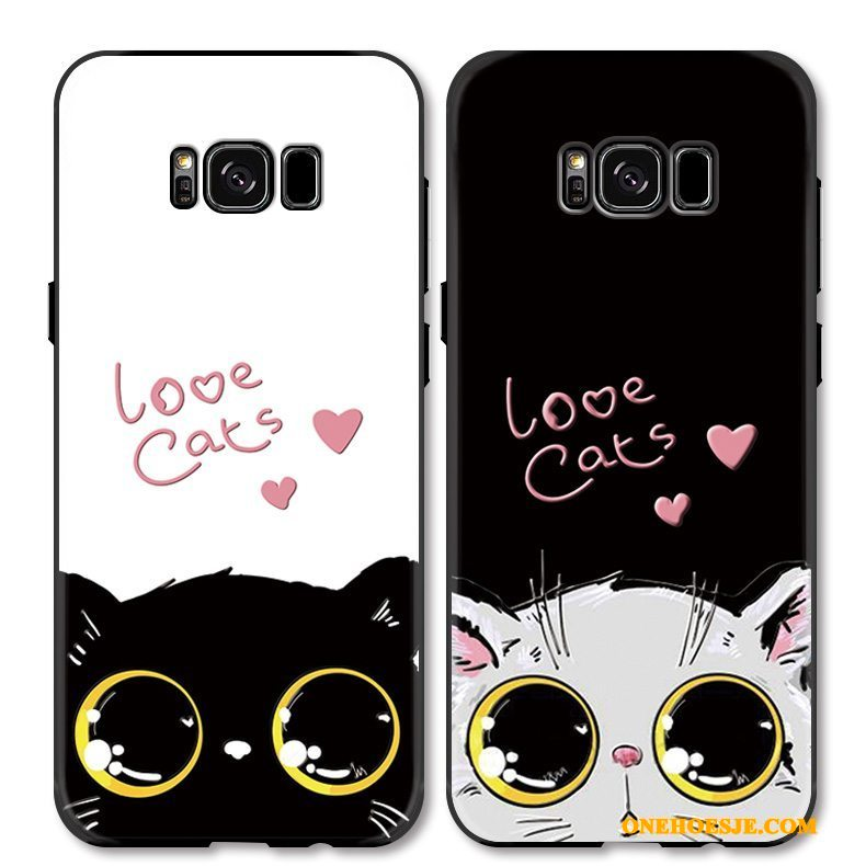 Hoesje Voor Samsung Galaxy S8 Lovers Anti-fall Mooie Hoes Kat Ster