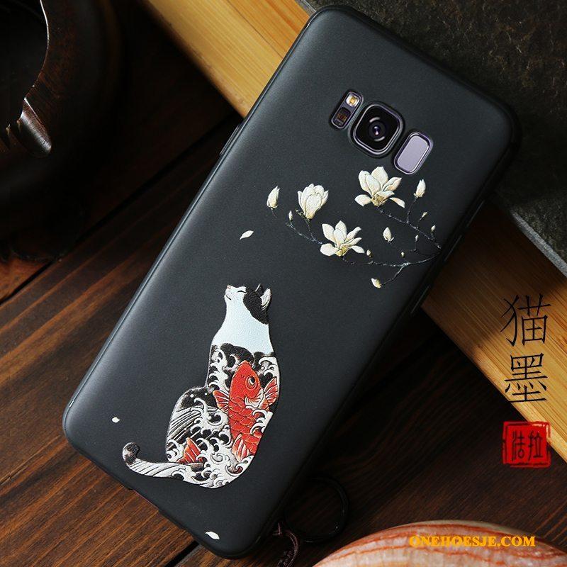 Hoesje Voor Samsung Galaxy S8 Siliconen Trend Kleur Telefoon Ster Nieuw