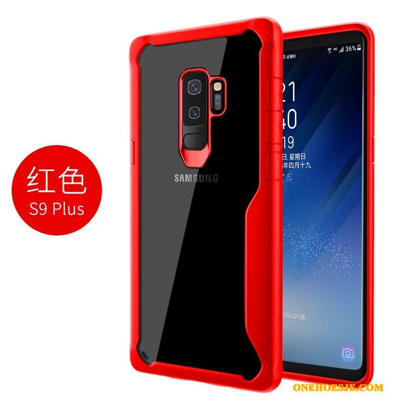 Hoesje Voor Samsung Galaxy S9+ Bescherming Hard Hoes Anti-fall All Inclusive Ster