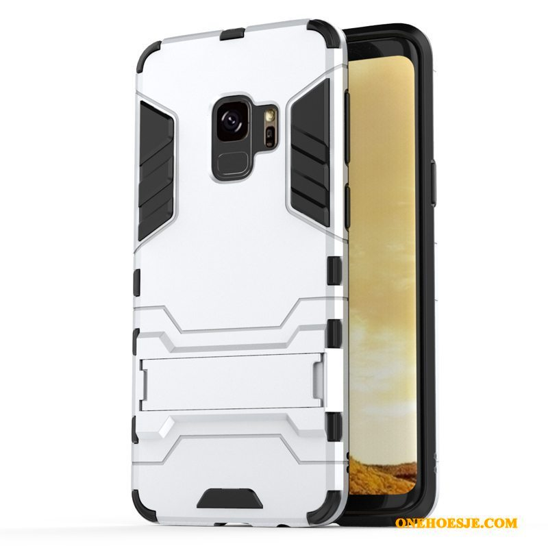 Hoesje Voor Samsung Galaxy S9 Hoes All Inclusive Siliconen Anti-fall Ster Zacht