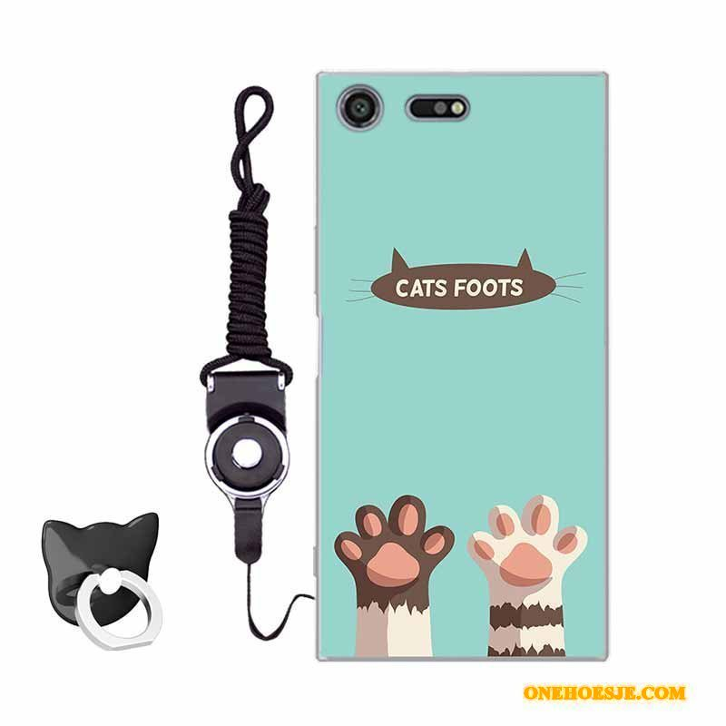 Hoesje Voor Sony Xperia Xz Premium Anti-fall Mini All Inclusive Hoes Telefoon Spotprent