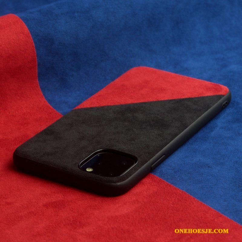 Hoesje Voor iPhone 11 Pro Max Nieuw Europa Het Uitstralen Telefoon Zwart Trend