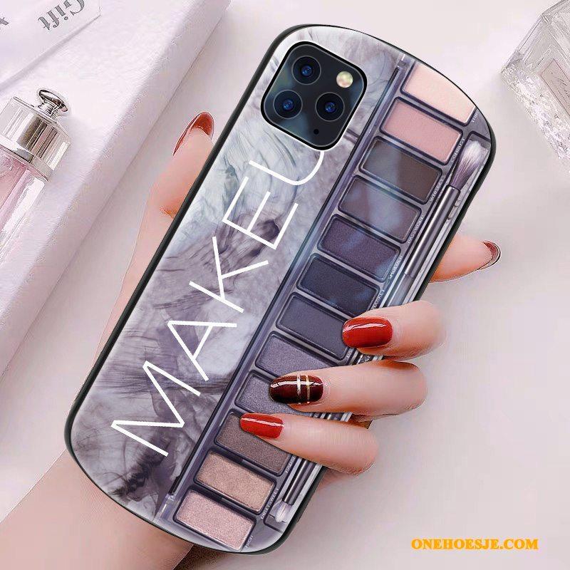 Hoesje Voor iPhone 11 Pro Max Telefoon Persoonlijk Skärmskydd Nieuw Tempereren Glas