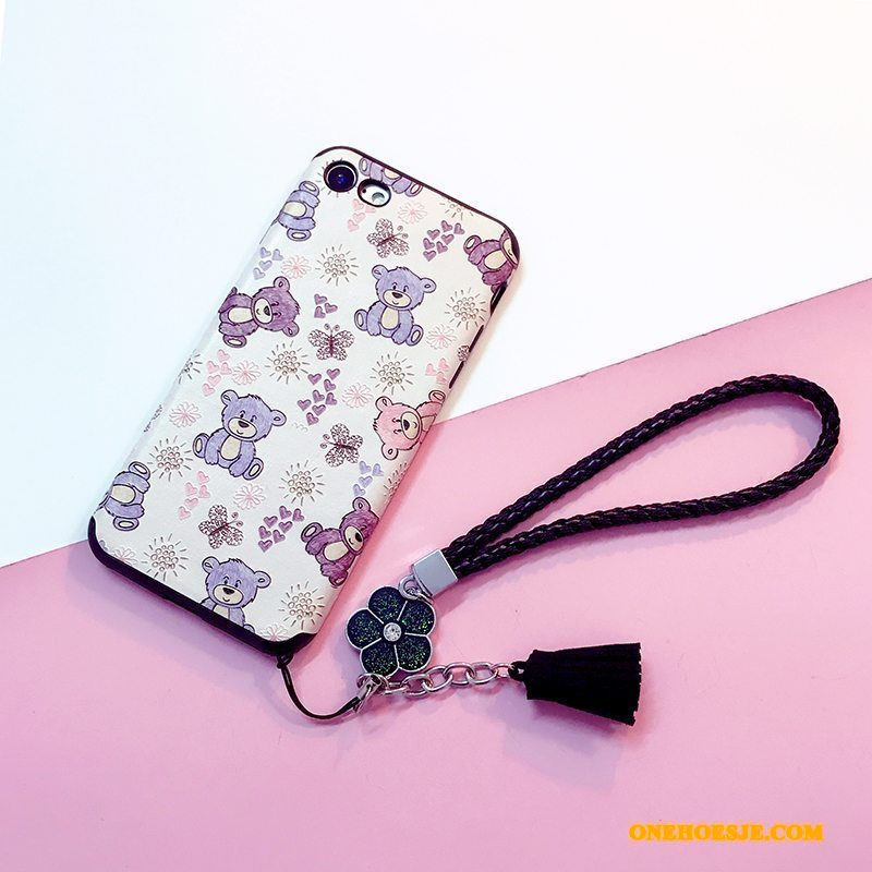 Hoesje Voor iPhone 6/6s Spotprent Mooie Siliconen Anti-fall All Inclusive