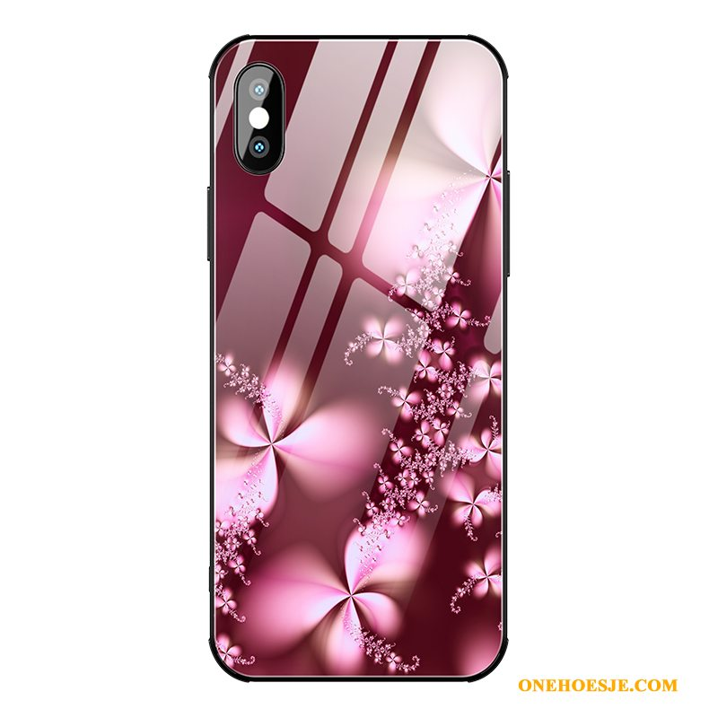 Hoesje Voor iPhone Xs High End Net Red Telefoon Trendy Merk Nieuw Anti-fall